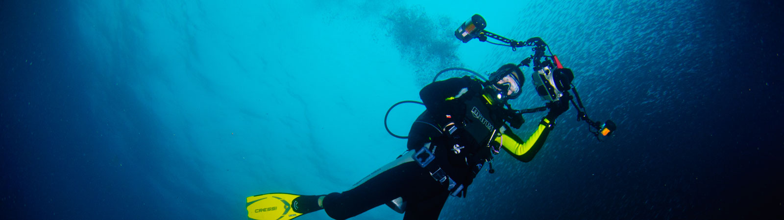 Fundiving in Moalboal